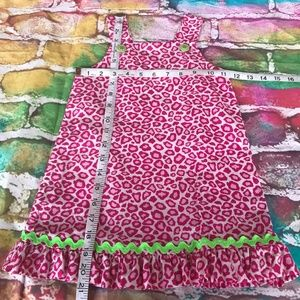 The Bailey Boys Dresses - The Bailey Boys Pink Leopard Sunglasses Jumper 4T